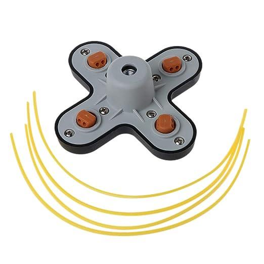 Catyrre - Juego de 4 accesorios para cortacésped y ...