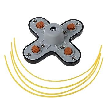 Catyrre - Juego de 4 accesorios para cortacésped y cortacésped ...