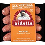 Aidells Mango Smoked Chicken Sausage 12 Oz (4 Pack)
