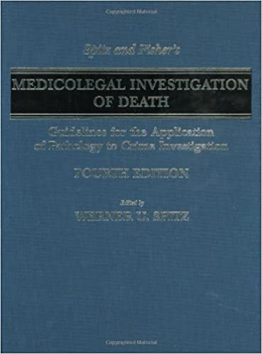 Spitz And Fishers Medicolegal Investigation Of Death Pdf