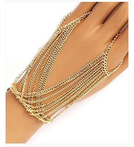Suyi Crystal Bracelet Harness Multilayer