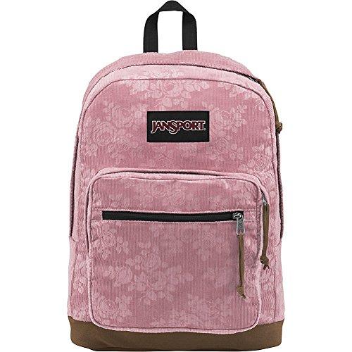 Vintage Corduroys Cotton (JanSport Right Pack Expressions (Vintage Pink Rose Corduroy))