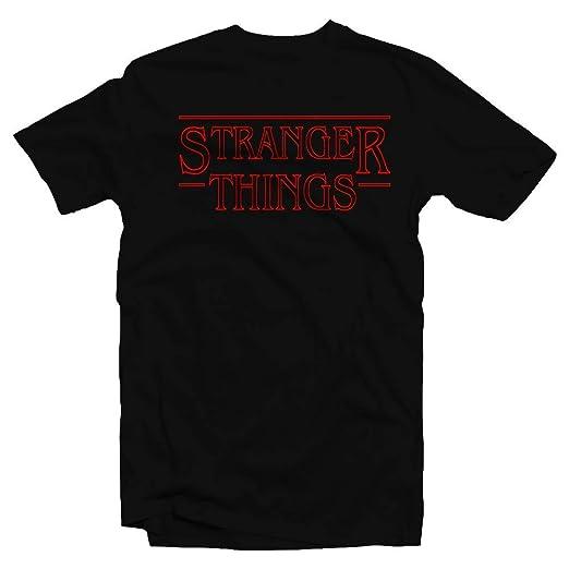 Netflix Stranger Things Inspired T-Shirt (XX-Large, Black)