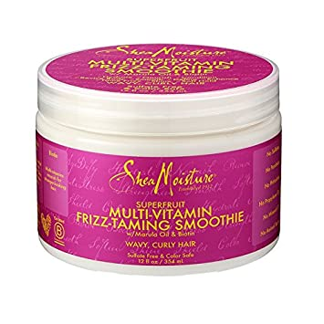 SHEA MOISTURE   Superfruit Multivitamin Frizz Taming Smoothie   DeSmooth  And Enhance Definition For Perfect Waves