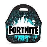 Lunch Bag for_Fire_Tnite Lunch Bag Insulated Lunch Box Waterproof Lunch Tote Bag with Zipper for Women