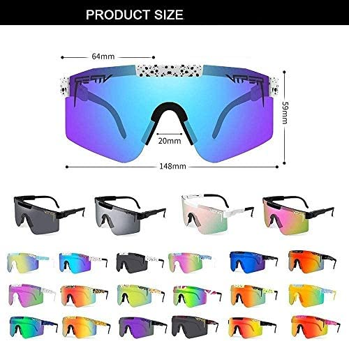 Pit Viper Sunglasses UV400 Polarized Sunglasses for Women and Men Sports Pit Vipers Outdoor windproof glasses