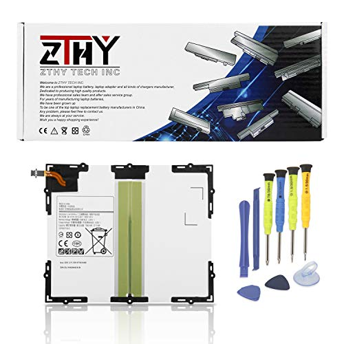 ZTHY New EB-BT585ABE Tablet Battery for Samsung Galaxy Tab A 10.1 SM-T580(WiFi) SM-T585(3G,4G/LTE &WiFi) SM-P580(WiFi) SM-P585(3G, 4G/LTE & WiFi) SM-T585C SM-T587 SM-T587P EB-BT585ABA 7300mAh (Battery For Tablet)