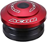 Acor 1.1/8' Integrated Headset. Anodized Colours (Red)