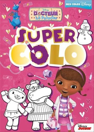 Doc La Peluche Super Colo Hjd Coloriages 9782013304443 Amazon Com Books