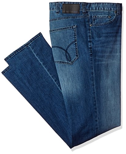 Calvin Klein Men's Big and Tall Relaxed Straight, Cove, 48x30
