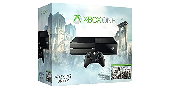 Microsoft Una consola Xbox 500 GB - Credo Unidad paquete de asesino: Amazon.es: Videojuegos