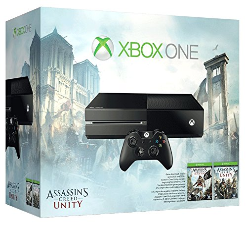 Xbox One 500Gb Console   Assassins Creed Unity Bundle