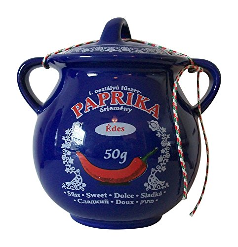 Paprika in Ceramic Pot 50gr/1.76oz by Sweet Paprika Chili-Trade