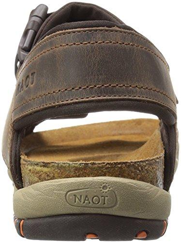 Sandalo Flat Da Uomo Marrone Explorer