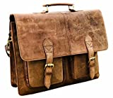Genuine Leather Messenger Bag for Men Laptop Bag Crossbody Shoulder bag Handmadecraft Leather Unisex Real Leather Briefcase Satchel (12 X 16)