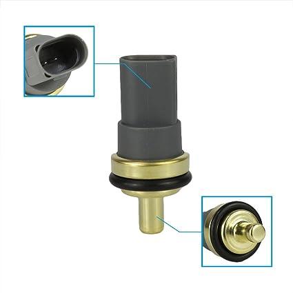 Amazon.com: Engine Coolant Temperature Sensor Switch Fit 06A 919 501A for Audi A3 A4 Quattro A5 A6 A8 Q5 Q7 RS4 S4 S5 S6 TT Volkswagen Beetle CC Eos Golf ...