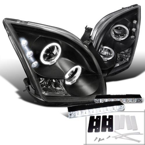 (Spec-D Tuning L15-LHPFUS06JMTM Fog Headlight (Fusion Black Halo Projector LED Kit))