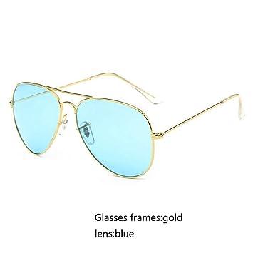 Amazon.com: CCGSDJ Ocean - Gafas de sol para mujer, estilo ...