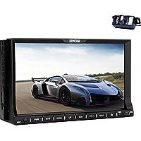 EinCar 2din Car Autoradio Stereo In Dash Headunit 7 Inch GPS Navigation Map Bluetooth CD DVD Player Automotive Radio AM FM + Rearview Camera