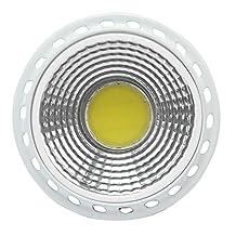GU5.3 / MR16 COB 6W 420LM LED Spotlight Bulb Lamp White Light Aluminum DC 12V