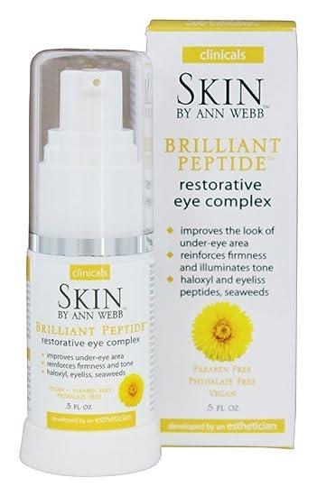 Brilliant Peptide Restorative Eye Complex Skin by Ann Webb .5 oz Gel Refresh P.M.® Lubricant Eye Ointment 0.12 oz. Box