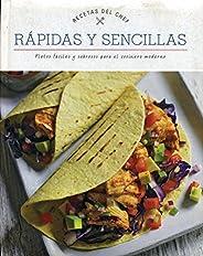 Libro cocina recetas del chef: rápidas y sencillas