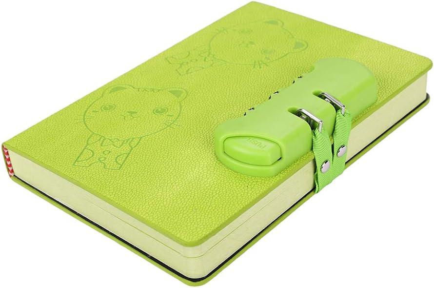 Cuaderno De Piel Sintética Con Cierre De Código Tamaño A5 Organizador De Diario Secreto Bloc De Notas Bloc De Notas Bloc De Notas Bloc De Notas Cuaderno Con Tapa Dura Para Niños