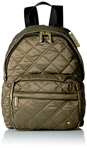 LeSportsac Women's City Piccadilly Backpack, Metallic/Bronze Quilted by LeSportsac