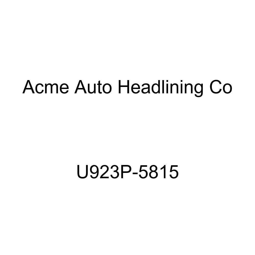 Acme U923P-5815 Front and Rear Dark Charcoal Vinyl Bench Seat Upholstery