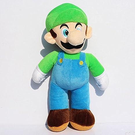 amazon com 10 25cm super mario bros luigi plush toys super mario