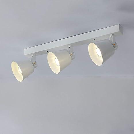 QAZ Retro - Proyectores LED de 3 pistas, 5 W, tienda de ropa ...