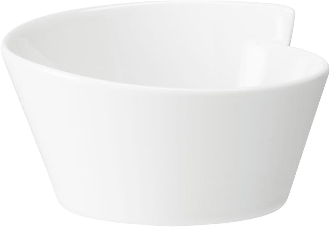 Villeroy & Boch 1025251900 Wave Large Round Rice Bowl (new shape), 20.25 oz, White