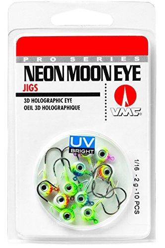 Neon Eyes - VMC NME116UVK UV Neon Moon Eye Jig