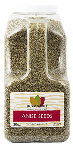 Anise Seeds Dried & Whole Spice : Loose Leaf Herbal Tea : KOSHER (30oz.) (Biscotti Anise Seed)