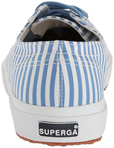 Superga Vrouwen 2750 Fabricshirtu Sneaker Lichtblauw