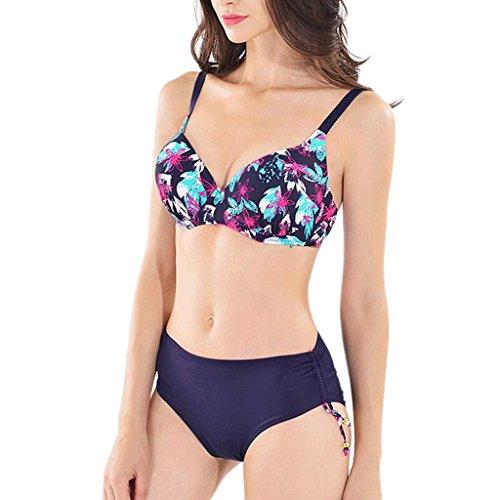 Bikini de moda de impresión traje de baño caliente Split C