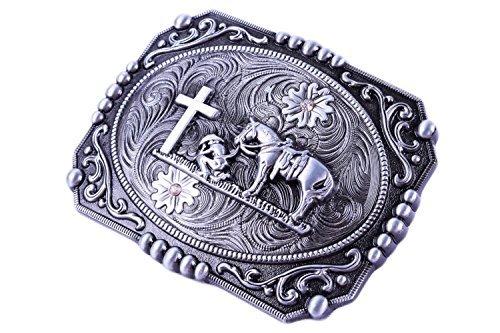 Religion Cross Cowboy And Horse Design Belt -