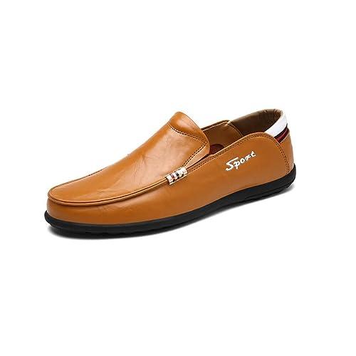 Zapatos de los Hombres, 2018 Zapatos de conducción de la caída de Primavera, Zapatos de Mocasines de Cuero, Zapatos Planos, Zapatos de la Moda de los ...