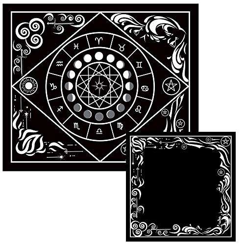 Tarot Cloth and Moon Tapestry Bundle by Hidden Crystal Tarot (Image #8)