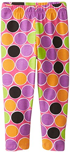 Flap Happy Dots (Flap Happy Baby Girls' Print Legging, Sugar Dots, 24 Months)