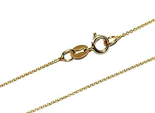 a3fa3b46eaf4 Markylis - Collar de Cadena de Ancla de Oro de 9 Quilates con eslabones  Finos de 0