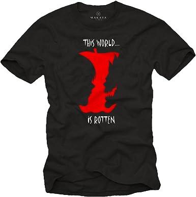 MAKAYA This World is Rotten - Ryuk Shinigami T-Shirt