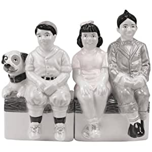 Westland Giftware The Little Rascals Magnetic Little Rascals Gang Salt and Pepper Shaker Set, 4-Inch