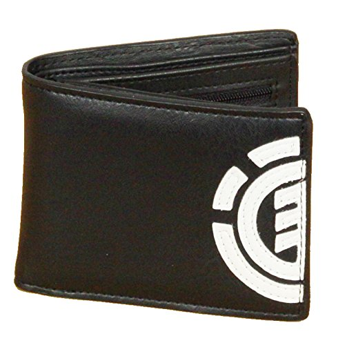 Element Daily Leather Wallet in Black