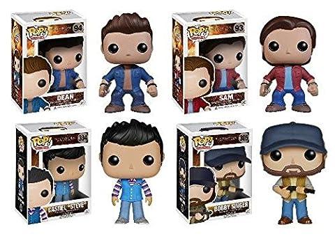 Funko POP! Supernatural: Sam + Dean+ Castiel