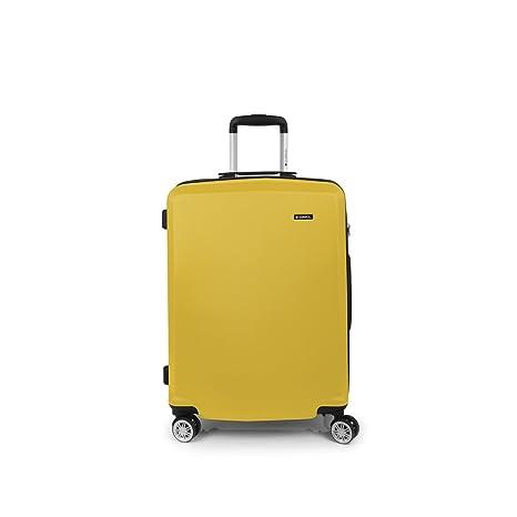 Maleta Mediana, Mondrian Gabol, 65x46x28, 60 L (Amarillo)