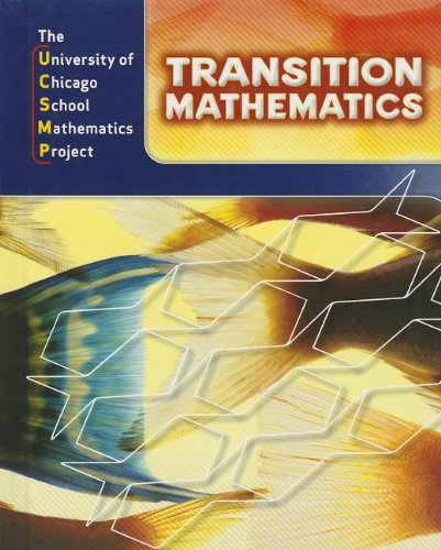 Transition Mathematics: UCSMP Grades 6-12