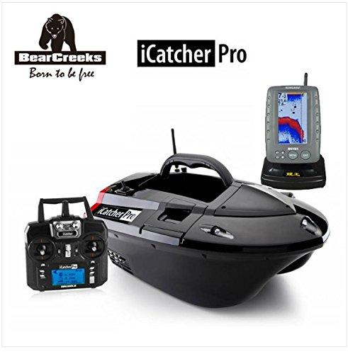Icatcher Pro Futterboot mit Echolot und GPS Autopilot