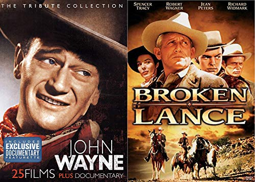 Lance Wayne West Collection Broken Tribute John 26 Western Movies Lucky Texan / McLintock! / American John Ford / Riders if Destiny / Lawless Frontier / Trail Beyond / Angel Badman / Paradise Canyon +