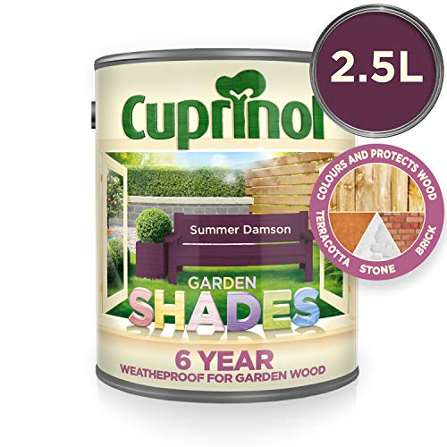 (Cuprinol GSSD25L Garden Shades Summer Damson 2.5 Litre )